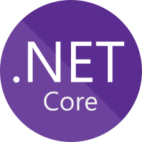 Image of Microsoft .NET Core Logo and link to website