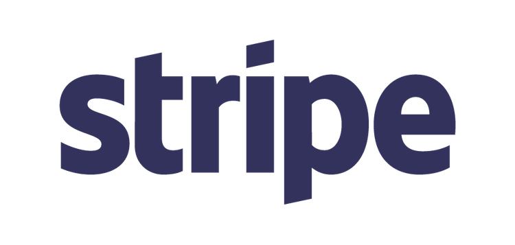 Image of Stripe Logo and link to website
