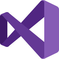 Image of Microsoft Visual Studio 2019 Logo and link to website