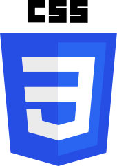 Image of CSS3 Logo and link to website