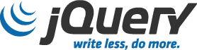 Image of jQuery Logo and link to website