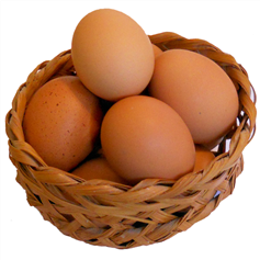 Image of 6 Locally Sourced Free Range Eggs