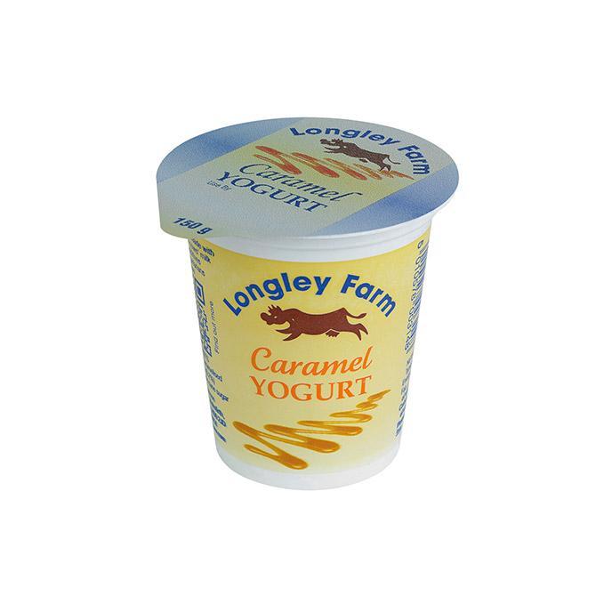 Image of Longley Farm Caramel Yoghurt