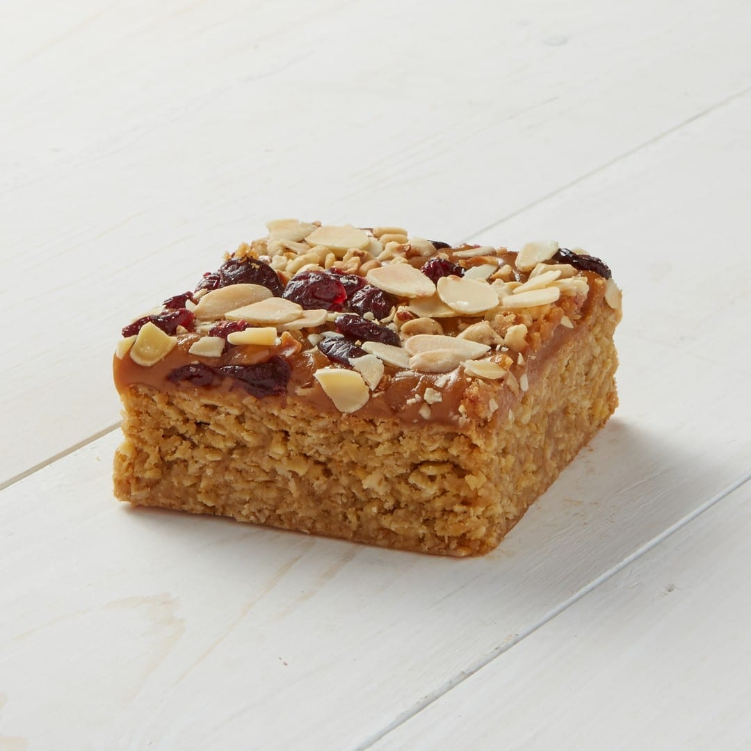 Image of Caramel and Cranberry Flapjack