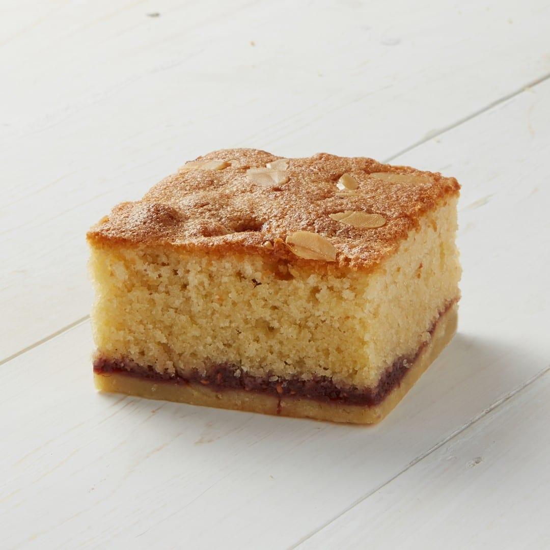 Image of Fresh Raspberry Bakewell Slice