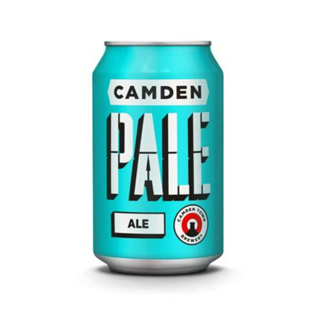 Image of Four Camden Ale or Hells Lager