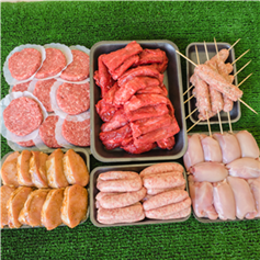 Image of Mega Peak District Party BBQ Meat Pack