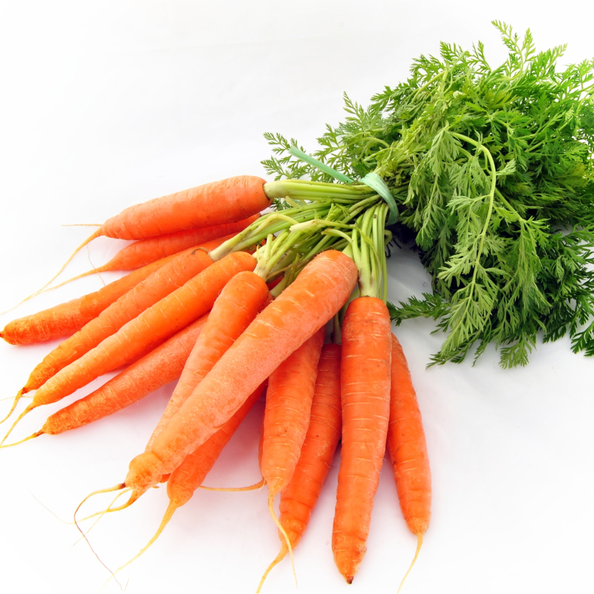 Image of Bunch of Carrots (Washed)