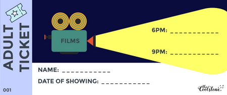 Image of Outdoor Film Festival 'ADULT TICKET'
