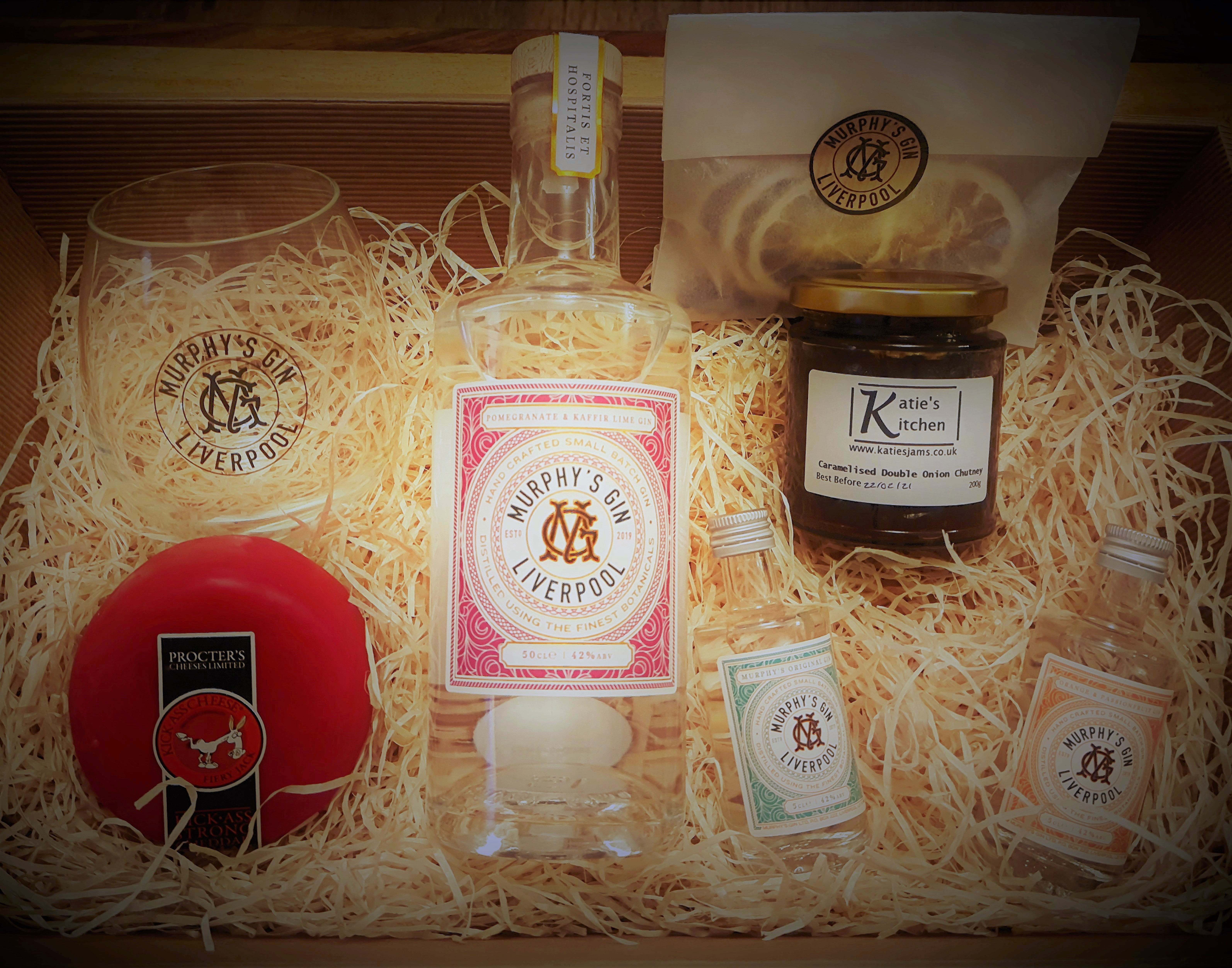 Image of Murphy's Gin Christmas Hamper (for Christmas Delivery)