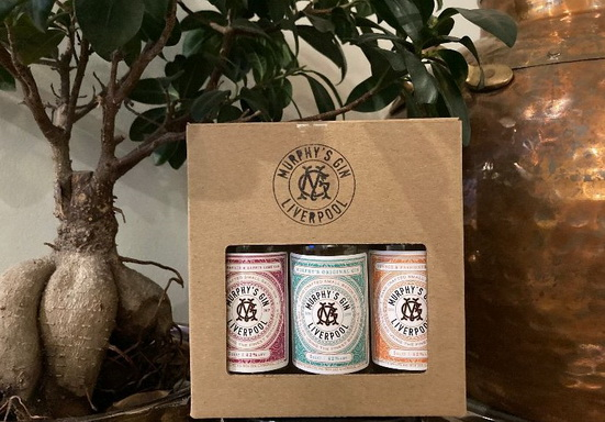 Image of Murphy's Gin Miniatures collection gift set
