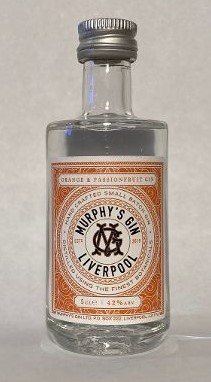 Image of Murphy'g Gin Orange and Passionfruit 5cl bottle