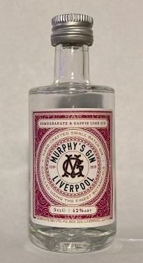 Image of Murphy's Gin Pomegranate and Kaffir Lime 5cl bottle